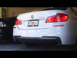 bmw 535i exhaust 2013 bmw 535i m sport exhaust comfort sport mode hd