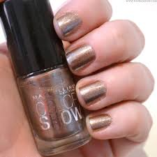 nails of the week maybelline color show dust of bronze u2014 have