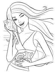 85 barbie coloring pages girls barbie princess friends