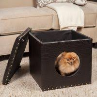 Pet Chaise Homepop Decorative Pet Bed Chaise Lounger Homepop