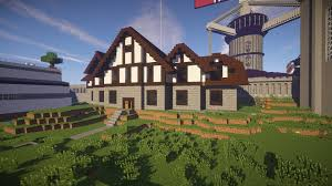 English Tudor Style by Minecraft Tudor House Youtube