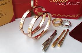 cartier bracelet pink gold images Cartier love bracelet in yellow gold white gold pink gold for jpg