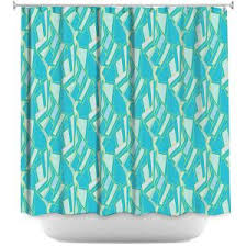 Turquoise Shower Curtain Shower Curtains Bathroom Bed U0026 Bath Dianoche Designs
