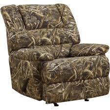 Fabric Recliner Armchair Furniture Camo Recliner Chair Camouflage Chair Camouflage
