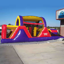 backyard combo bounce house and slide for rent in san benito the