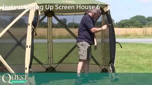 Gazebo Screen House by Screen House 6 Full Instruction Youtube