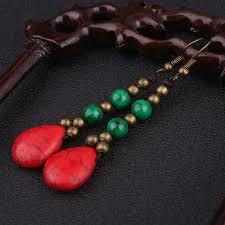 thailand earrings aliexpress buy new ethnic antique brass earrings