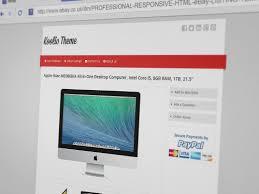 free ebay auction templates minimal advanced clean responsive multi purpose ebay listing