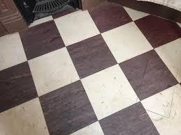 deep cleaning kitchen and bathroom vinyl floors in worcester park
