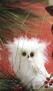 white fluffy owl coenaments 10 best owl