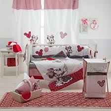 Minnie Crib Bedding Set Disney Minnie Mouse Crib Bedding Set 4pc