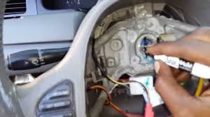 how to remove a steering wheel from a 1998 2011 lincoln town car