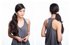 Frisuren Lange Haare Pferdeschwanz by Frisuren Für Mützen 25 Ideen Für Schöne Haarstylings
