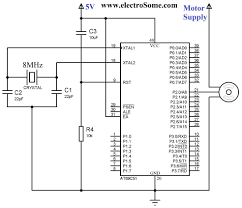 Stepper Motor Driver Wiring Diagram Interfacing Servo Motor With 8051 Microcontroller Using Keil C At89c51