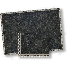 black faux marble floor tile pack
