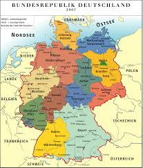 Map Of Spain With Cities by Germany Color Map Colorful Map Of Germany Germany Map With Cities