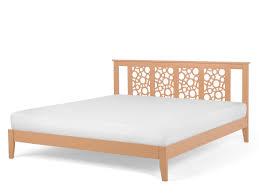 bed super king size bed frame wooden 180x200 cm light