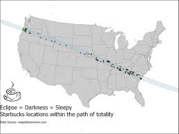 Bigfoot Sightings Map Where Can You See A Solar Eclipse And Maybe Bigfoot At The Same