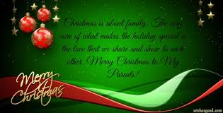 merry wishes for parents merry wishes