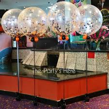 balloon delivery scottsdale confetti 3 foot balloons for at bankstown sports club