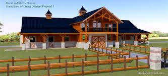Pole Barn With Apartment Plans by Barns And Buildings Quality Barns And Buildings Horse Barns