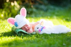 easter inspired baby names are perfect for a spring baby