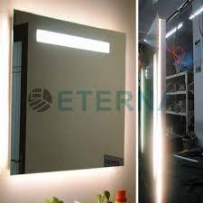Backlit Bathroom Mirror by Backlit Frosted Led Bathroom Mirror Backlit Frosted Led Bathroom