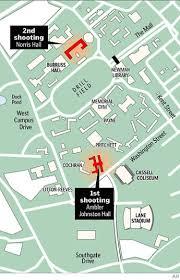 University Of Virginia Campus Map by Gunman Killed 32 At Virginia Tech Before Being Killed Ny Daily News