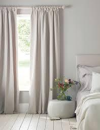 dove grey blackout pencil pleat curtains secret linen store