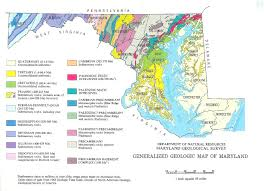 maryland map geologic map of maryland mapprinter