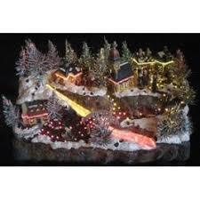 Fiber Optic Christmas Decorations Fiber Optic Christmas Village Lookup Beforebuying