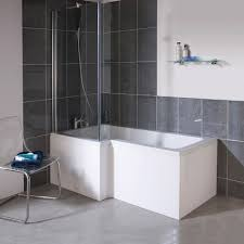bathroom cool small bathroom with l shaped bath ideas sipfon this