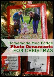 mod podge photo ornaments crafts and the o jays