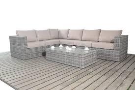 Large Corner Sofa Port Royal Rustic Large Left Hand Facing Corner Sofa Set Grey