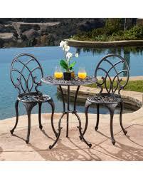 Copper Bistro Chair Tis The Season For Savings On Charleston Aluminum Copper Bistro