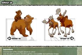 brother bear coloring book game coloring games games loon