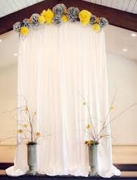 wedding backdrop simple simple wedding backdrop ideas oosile