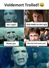 Meme Ugly - dopl3r com memes voldemort trolled am i uglyi god made no one