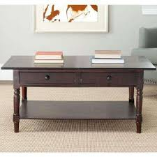 safavieh alec coffee table medium oak modern rectangle wood 4 up coffee tables accent tables
