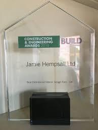 award for best commercial interior design firm u2013 uk u2013 hempsall