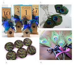 peacock wedding favors peacock colors for weddings peacock wedding favor ideas wedding
