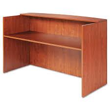 Fancy Reception Desk Alera Valencia Series Reception Desk W Counter By Alera