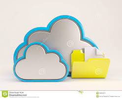 3d cloud drive icon stock illustration image 53852979