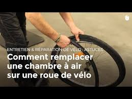 comment changer une chambre à air diy remplacer la chambre à air de vélo tout reparer