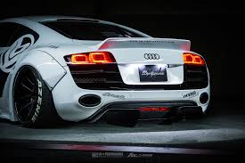 Audi R8 White - audi r8 v10 valvetronic exhaust system fi exhaust