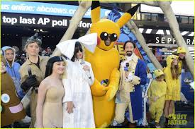 pikachu costume halloween city gma u0027s michael strahan dresses as pikachu for halloween photo