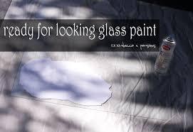 Krylon Mirror Glass Spray Paint - diy haunted ghostly mirror with krylon looking glass paint tutorial