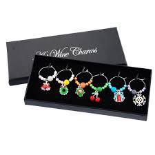 snowflake table top decorations 1 box mixed snowflake wine charms and tabletop decorations for your