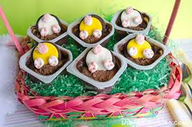 easter bunny candy and easy bunny easter pudding cups recipe
