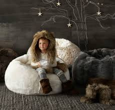 rh baby u0026 child faux fur bean bags luxurious holiday gifts for